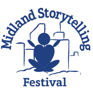 Midland Storytelling Festival Website Logo